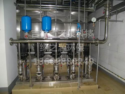 康平档案馆供水设备