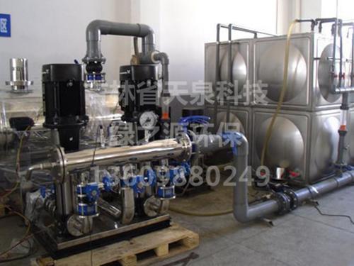 不锈钢箱式一体化供水设备